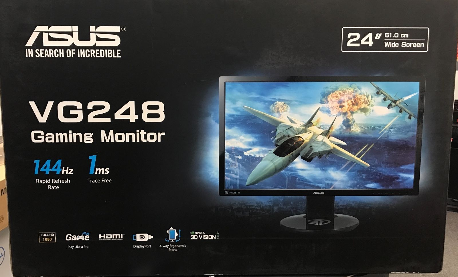 asus vg248qe test wie gut ist der 144hz monitor von asus. Black Bedroom Furniture Sets. Home Design Ideas
